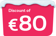Discount of €80 on the price of your Familus pack
