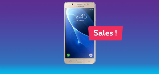 Seasonal Sales Promo Samsung Galaxy J5 2016