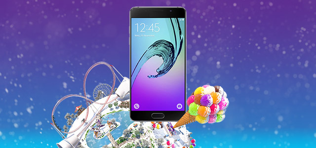 Promo Samsung Galaxy A5 with Tuttimus