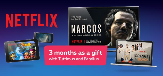 Netflix directly on your Proximus TV decoder