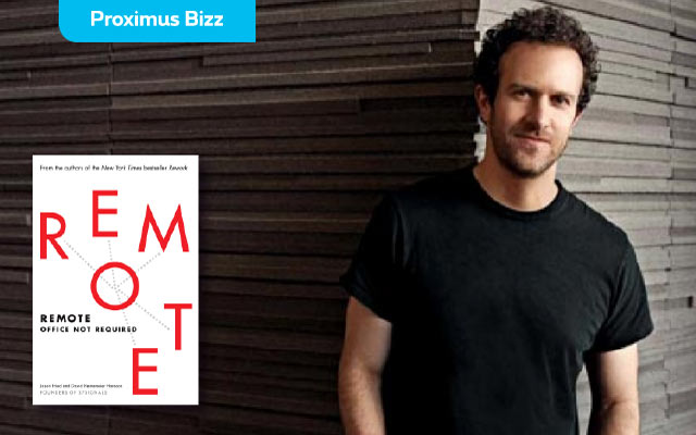 "Book review: ""Remote"", by Jason Fried: or way teleworking is a great idea"