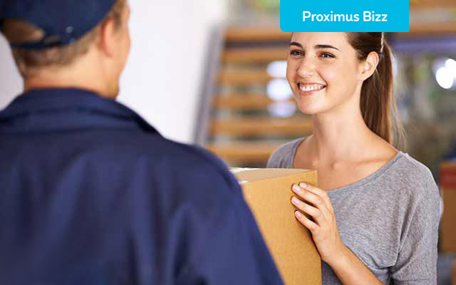 Need a new Proximus device? We'll send it to you!