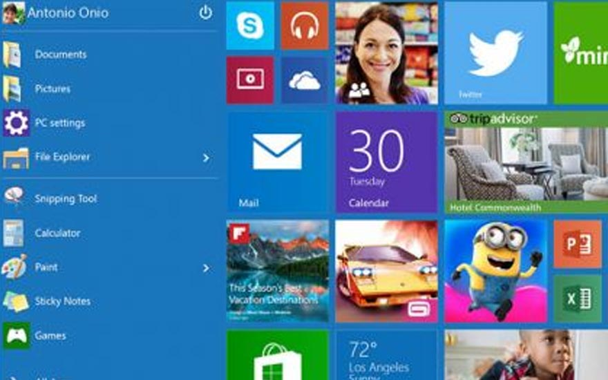 Windows 8 followed by Windows 10