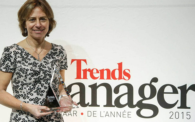 CEO Dominique Leroy, finalist of 'ICT Woman of the Year 2015′