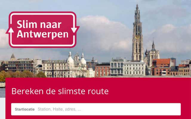 City of Antwerp launches smart route planner
