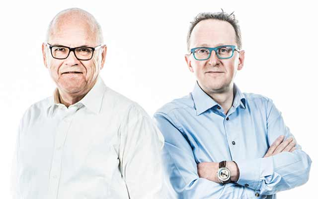 Rik Donckels and Hans Wilmots: helping family businesses