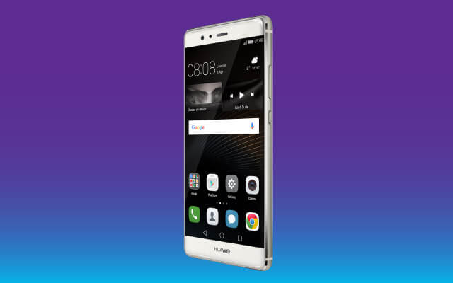 Top model on the catwalk: the Huawei P9!