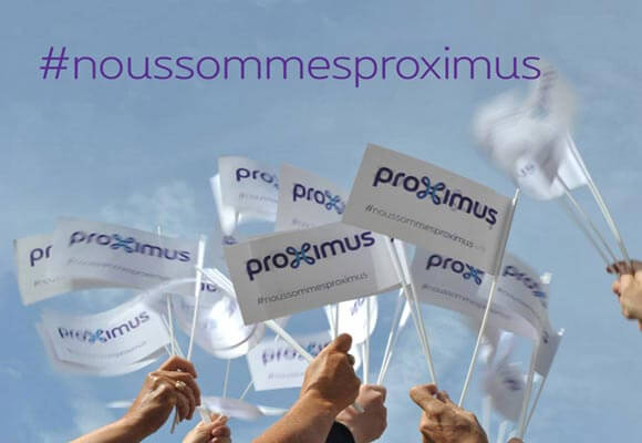 Don't say Belgacom any more, because #weareproximus