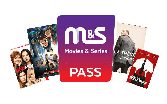 Entertainment offer – activate the Movies & Series Pass, you'll get the M&S channel and the catalogue