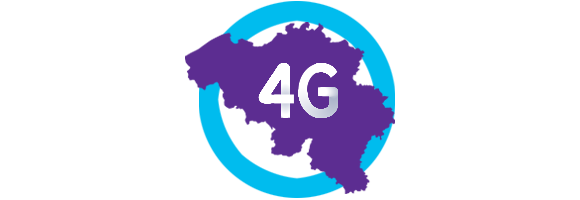 4G network coverage