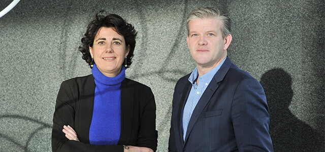 Katia Battheu, Director of Enterprise Operations and Pascal Vanswegenoven, Head of Business Support Centers at Proximus