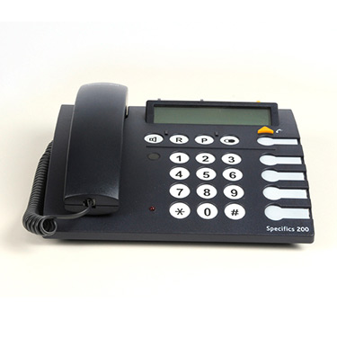 Telephone Specifics 200 black