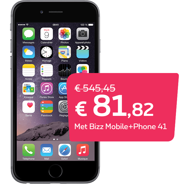 Apple iPhone 6 32GB Space Grey promo – Proximus
