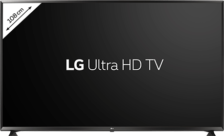"A LG Ultra HD 4K TV 43"" for €69 with Tuttimus"