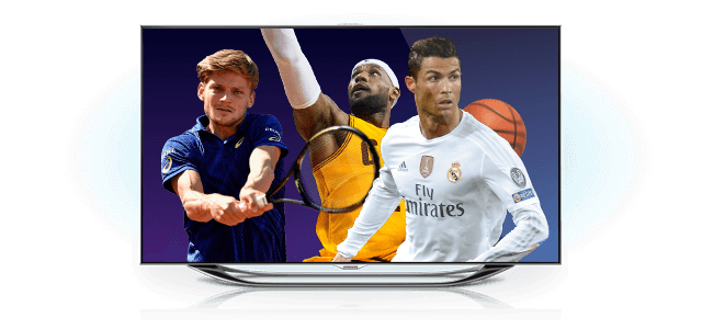 Enjoy sport's channels with Proximus TV!