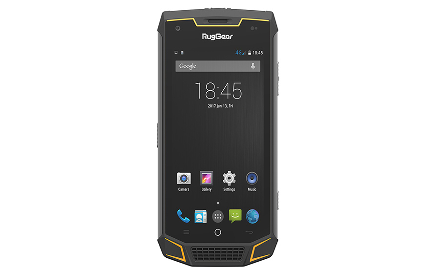 RugGear RG 740 LTE: extra sturdy for any construction site