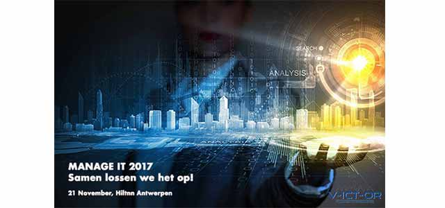 V-ICT-OR Manage IT 2017