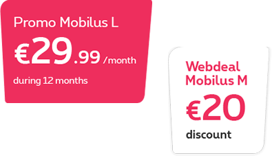 Promo and Webdeal on Mobilus M
