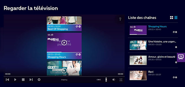proximus tv website