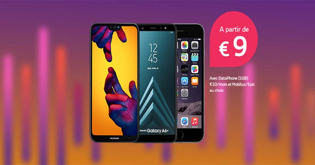 Smartphones Gsm Avec Et Sans Abonnements Proximus