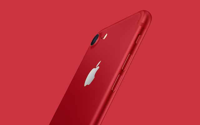 The special iPhone 7 (RED)? Get it from us!