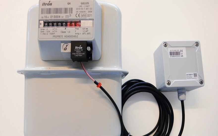 Antargaz goes digital by fitting gas meters with automatic sensors
