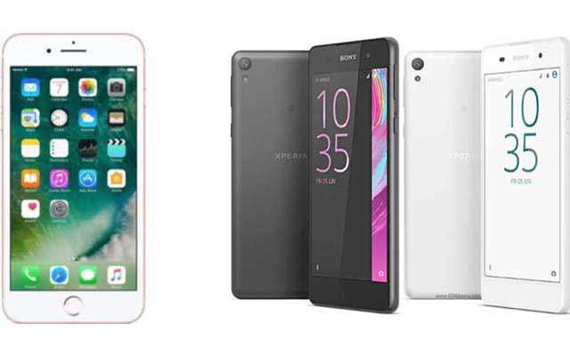 Devices in the spotlight: iPhone 7, Sony Xperia E5