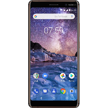 Nokia Nokia 7 Plus Black