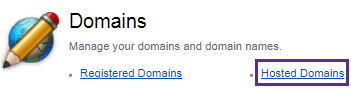 Hosted Domains