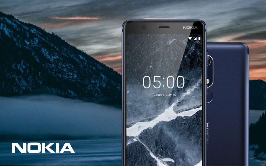 Nokia 5.1: a good update of the Nokia 5