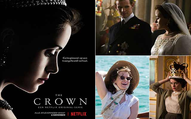 """The Crown"", nouveau bijou royal de Netflix"