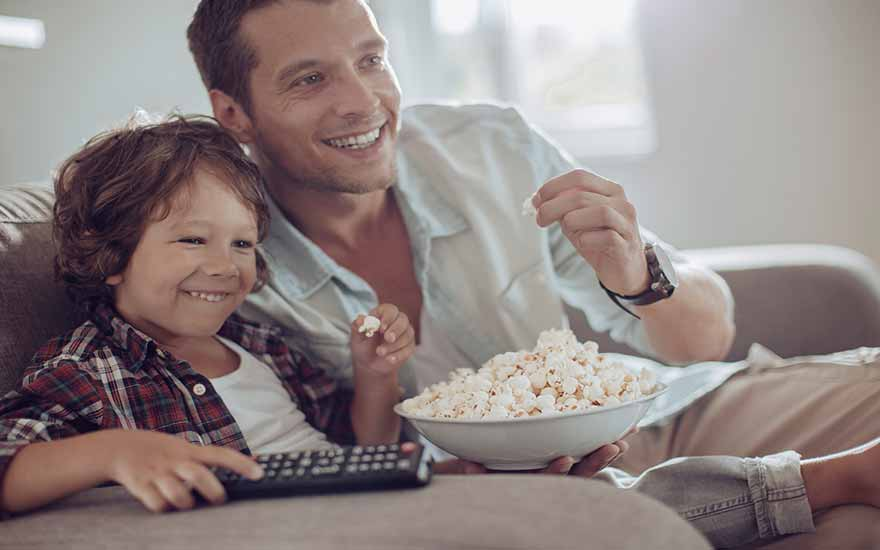 The best family movies, every Sunday on MS HD