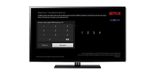 Activate Netflix Proximus