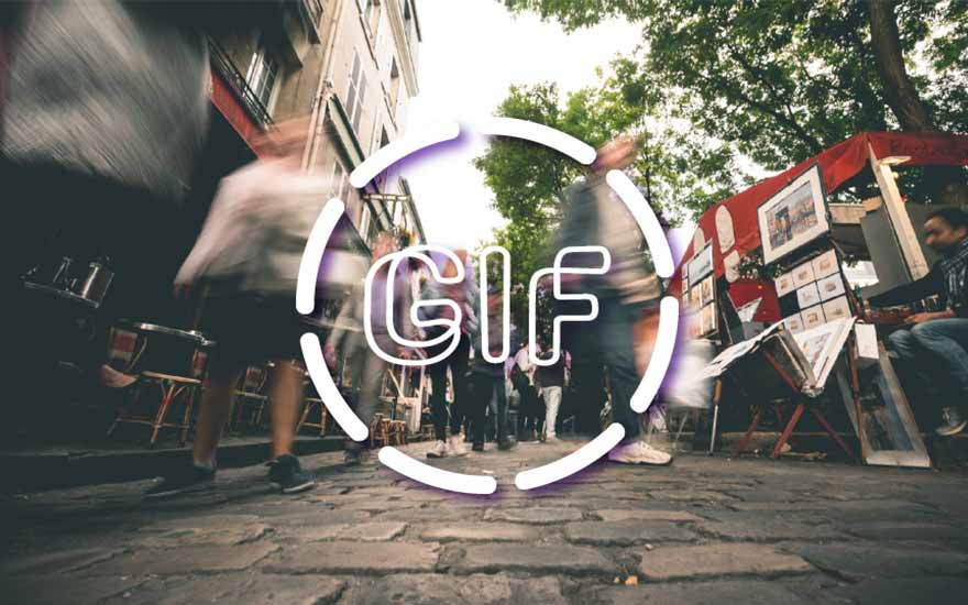 How do you use a GIF as a marketing tool?