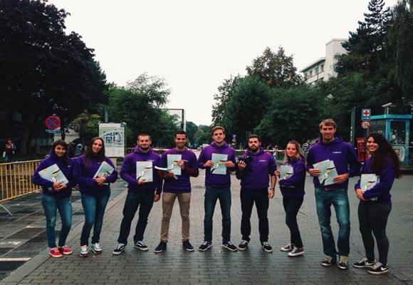 Start the new college term as it should be with Proximus!
