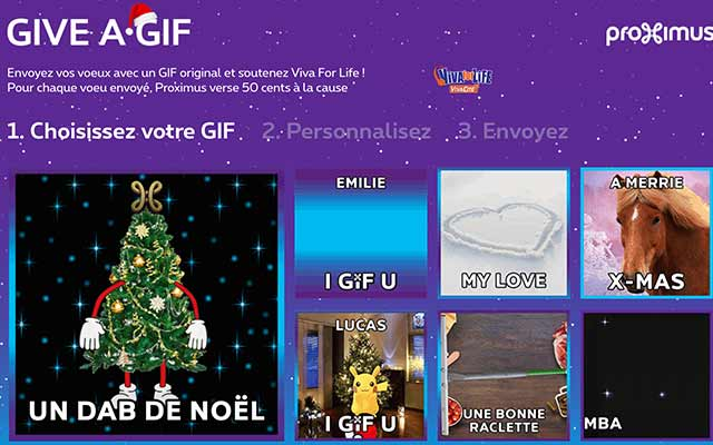Want an original Christmas card? Why not Give a GIF?