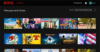 Netflix hacks; Netflix sur Proximus TV