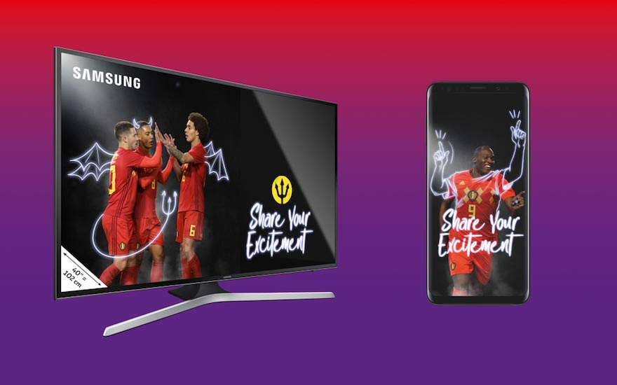 Your TV or smartphone as a gift, thanks to the Red Devils!