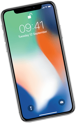 Smartphone iPhone X Silver
