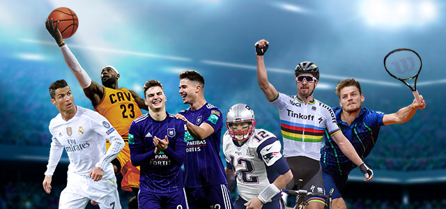 Sports offer on Proximus TV, football and other international sports