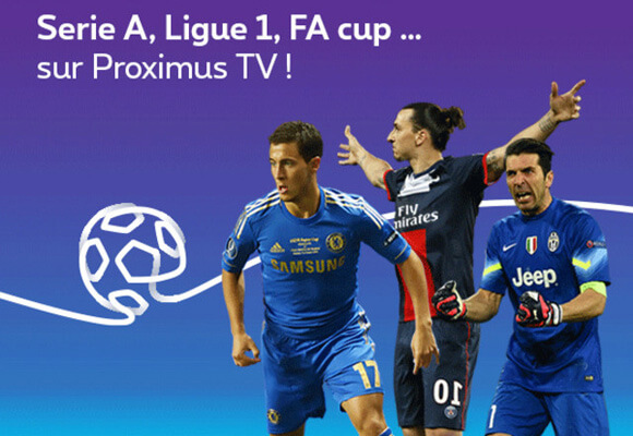 Hazard, Mertens and Nainggolan on Proximus TV!