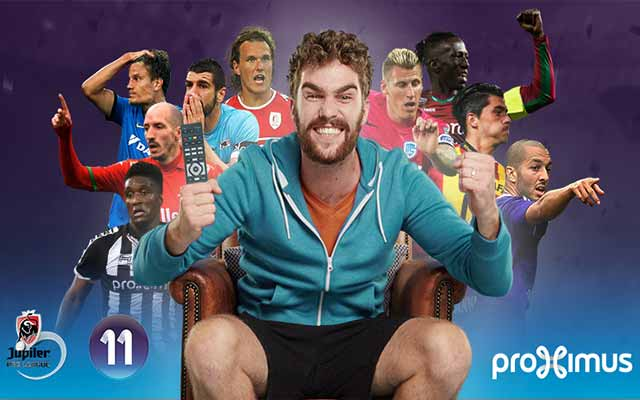 Proximus 11 enfile sa nouvelle tenue de foot