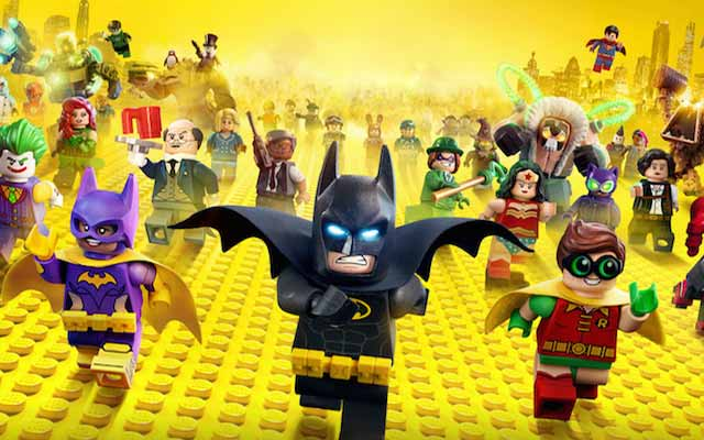 Now on Proximus TV: The LEGO Batman Movie