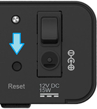 Reset knop V5 compact decoder