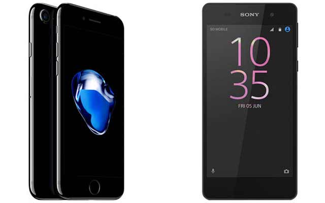 Discover the new iPhone 7 and Sony Xperia E5