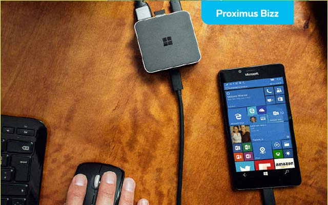 Transformer un smartphone en ordinateur ? Rien de plus facile avec le Display Dock de Microsoft !