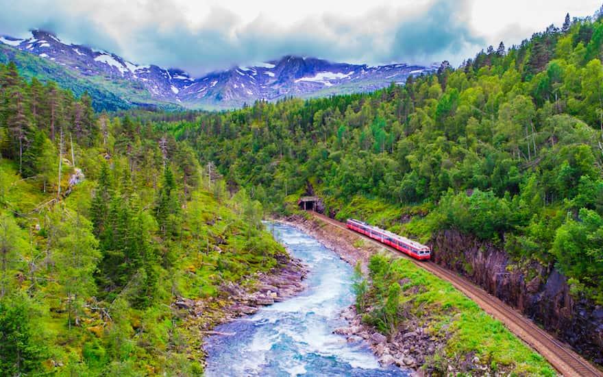 Treinreis Scandinavië: Met De Trein Naar Noorwegen