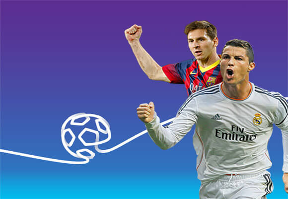Messi and Ronaldo stay on Proximus TV!