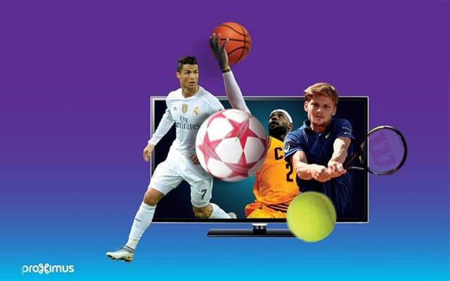 "Proximus simplifies and enriches its ""sports"" offering"
