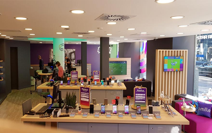 Discover the new Proximus Centers in Antwerp and Brussels